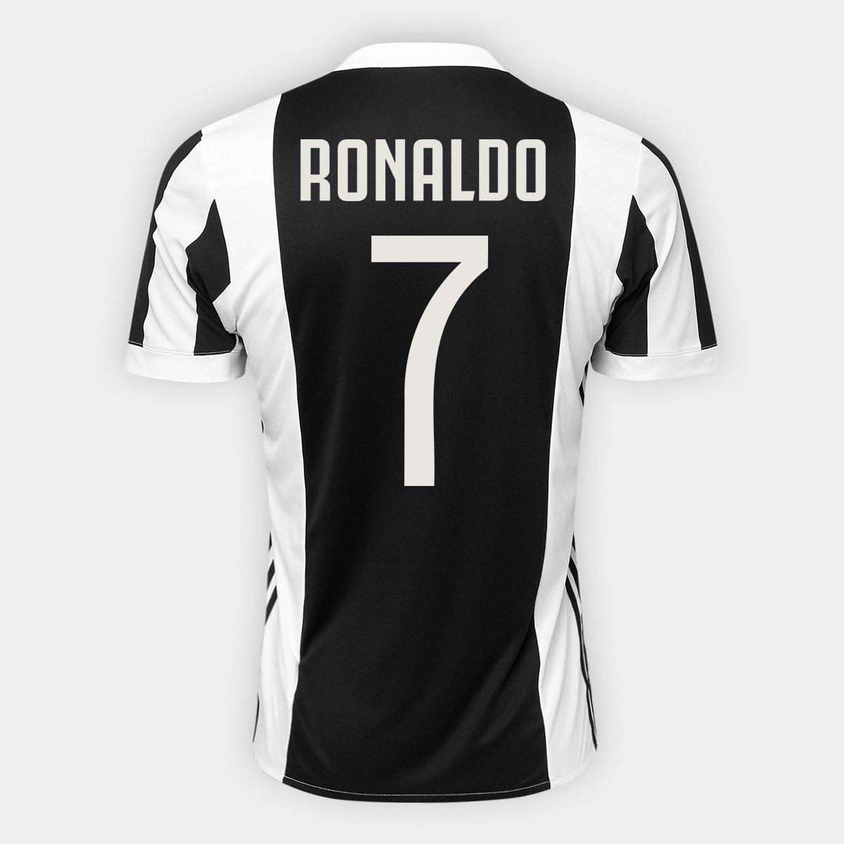 Melancolía amortiguar circulación  Camisa Juventus Home 17/18 nº 7 Ronaldo - Torcedor Adidas Masculina |  Netshoes