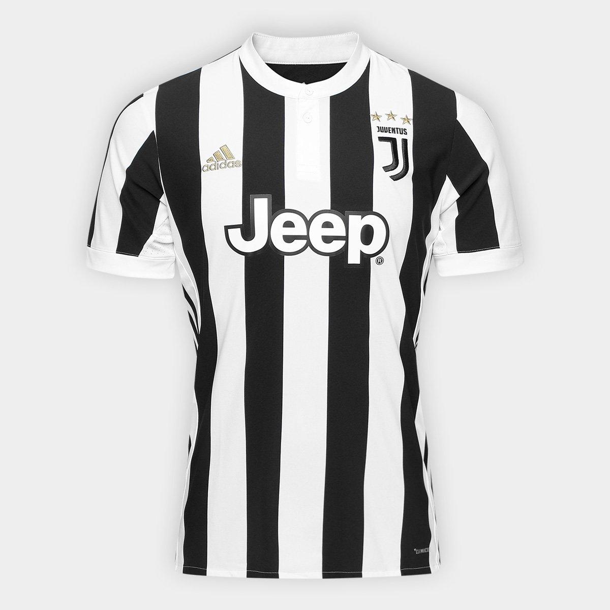 ... Camisa Juventus Home 17 18 nº 7 Ronaldo - Torcedor Adidas Masculina ... 45dd8321a44f9