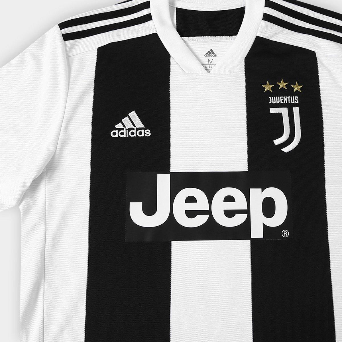 d70e3224ca Camisa Juventus Home 2018 s n° - Torcedor Adidas Masculina - Compre ...