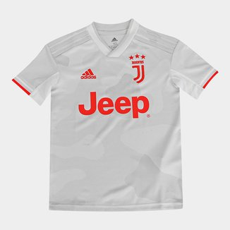 Camisa Juventus Infantil Away 19/20 s/nº Torcedor Adidas