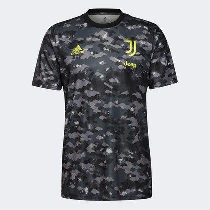 Camisa Juventus Pré-Jogo 21/22 Adidas Masculina