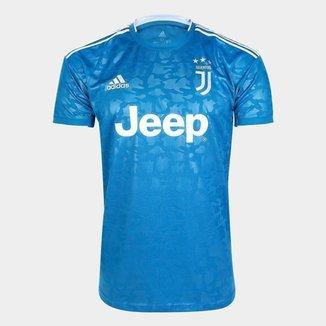 Camisa Juventus Third 19/20 s/nº Torcedor Adidas Masculina