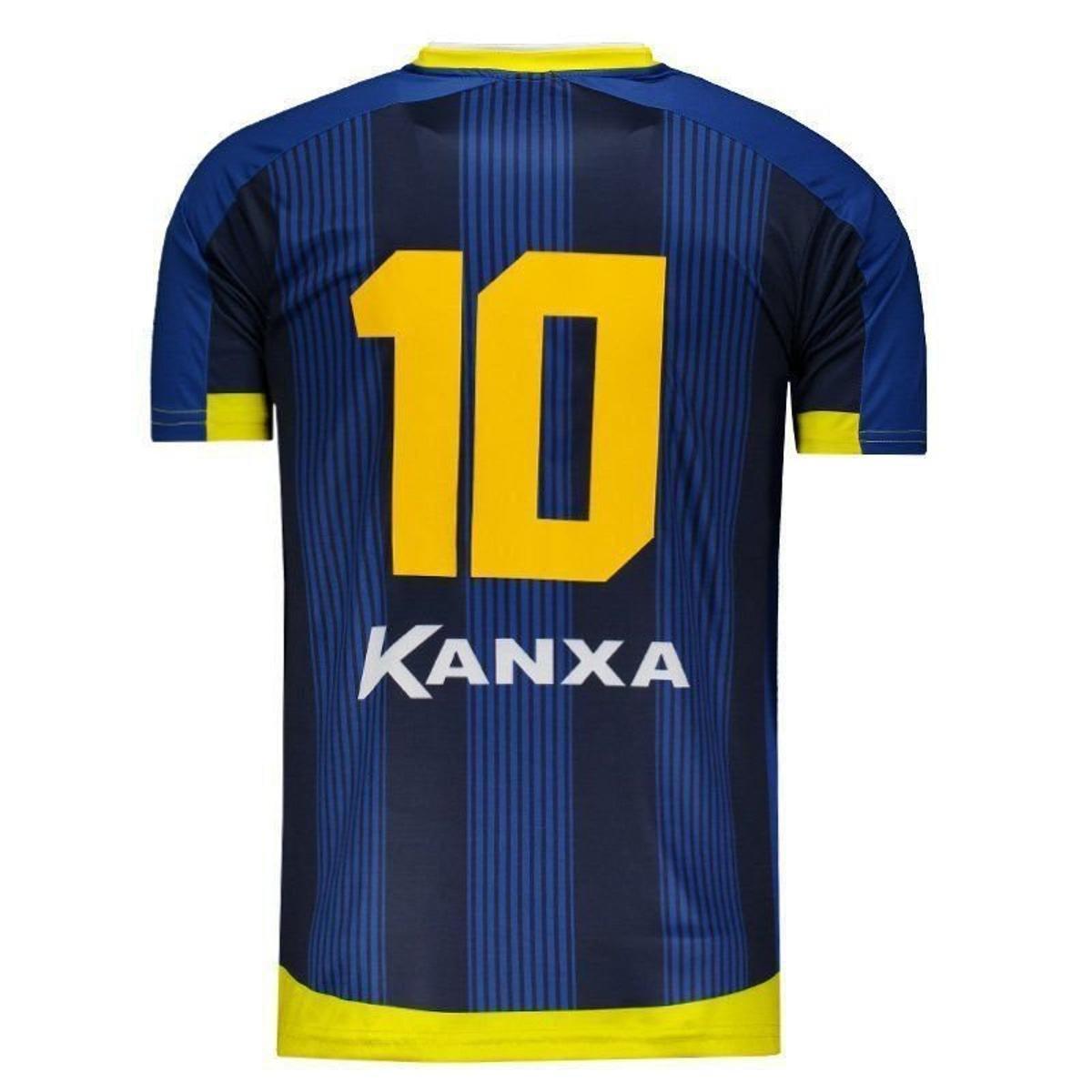 Camisa Kanxa Altos Do Piauí II 2018 Masculina - Marinho - Compre ... a66f39d1db83b