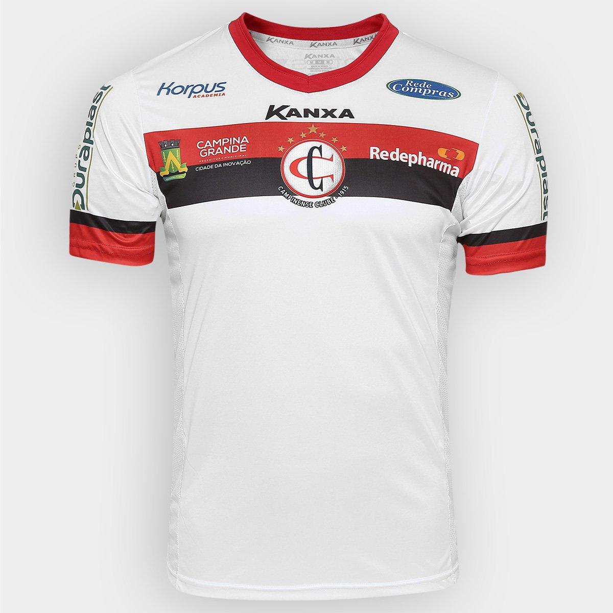 29d78b0f4 Camisa Kanxa Campinense II 2016 nº 10 | Netshoes