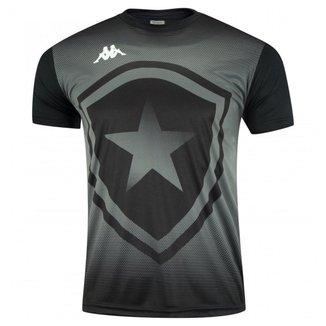 Camisa Kappa Botafogo Escudo Torcedor Infantil