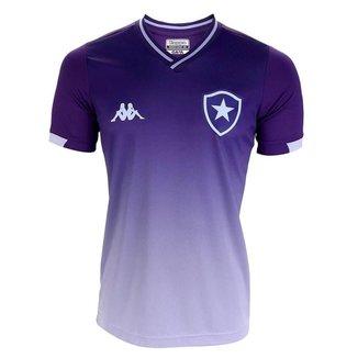 Camisa Kappa Botafogo Goleiro I 2019/20 Juvenil -