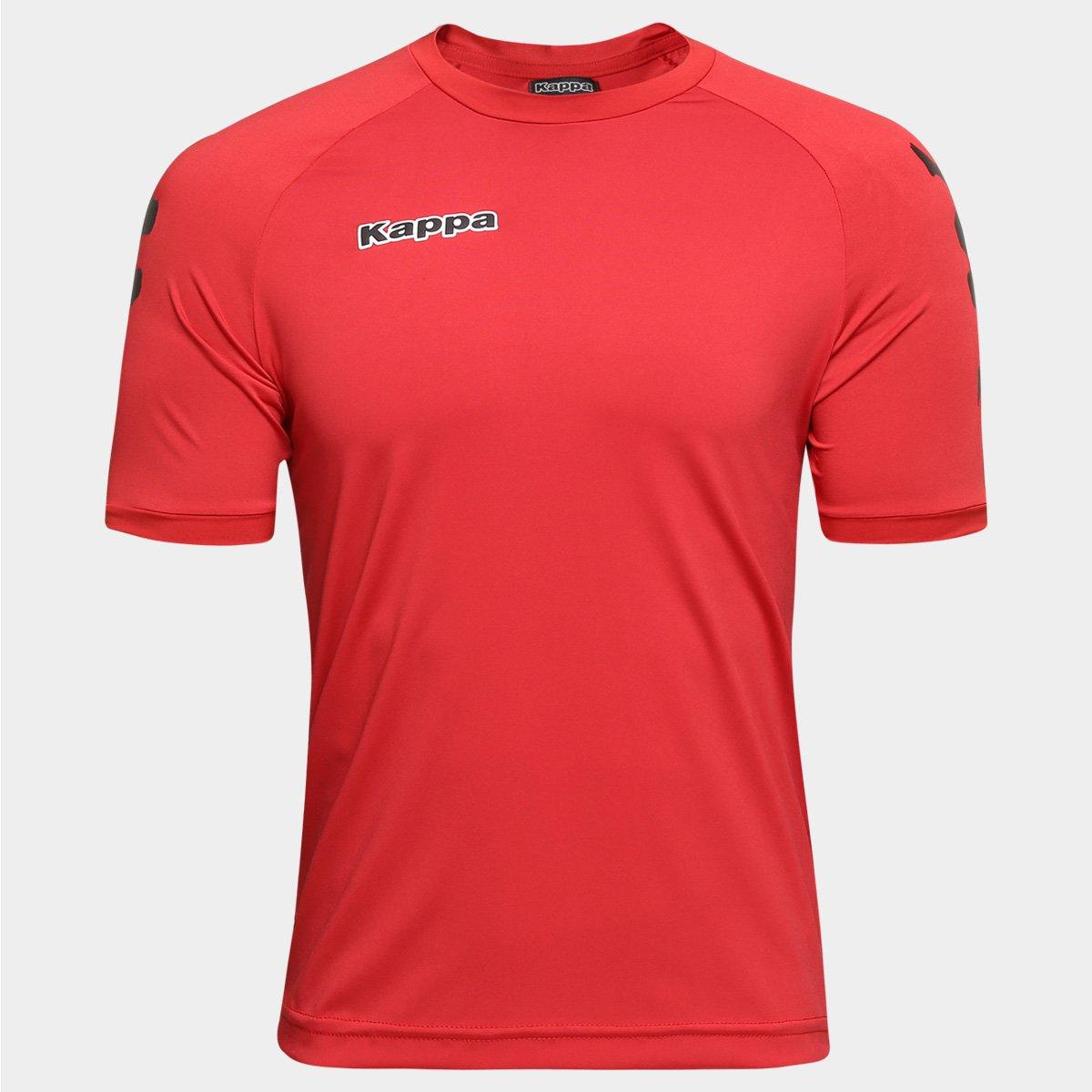 b275a8ca50d25 Camisa Kappa Kombat Lettering Masculina - Compre Agora
