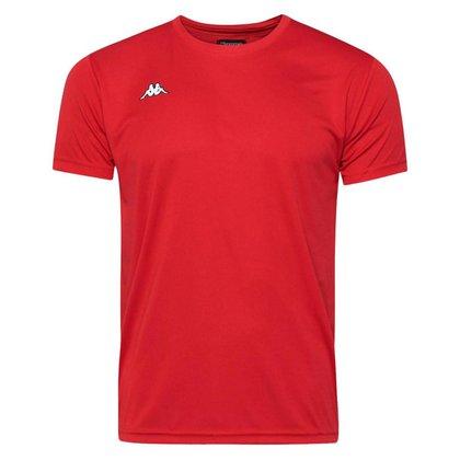 Camisa Kappa Modena Treino Futebol Vermelha
