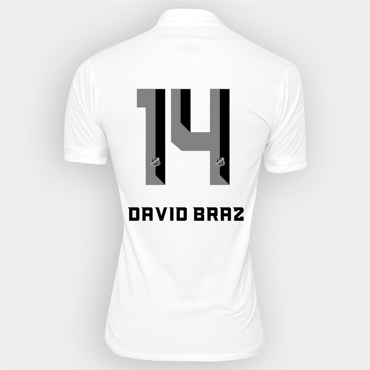 f3cc4987e7 Camisa Kappa Santos I 2016 nº 14 - David Braz - Compre Agora
