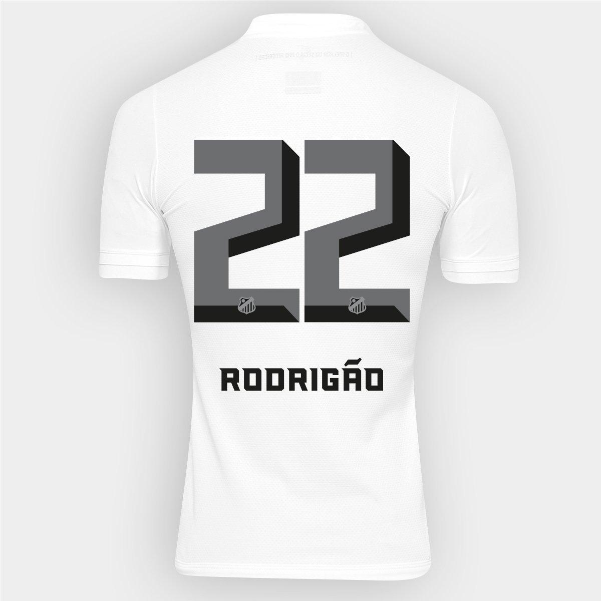 5d037c0fd3 Camisa Kappa Santos I 2016 nº 22 - Rodrigão - Compre Agora
