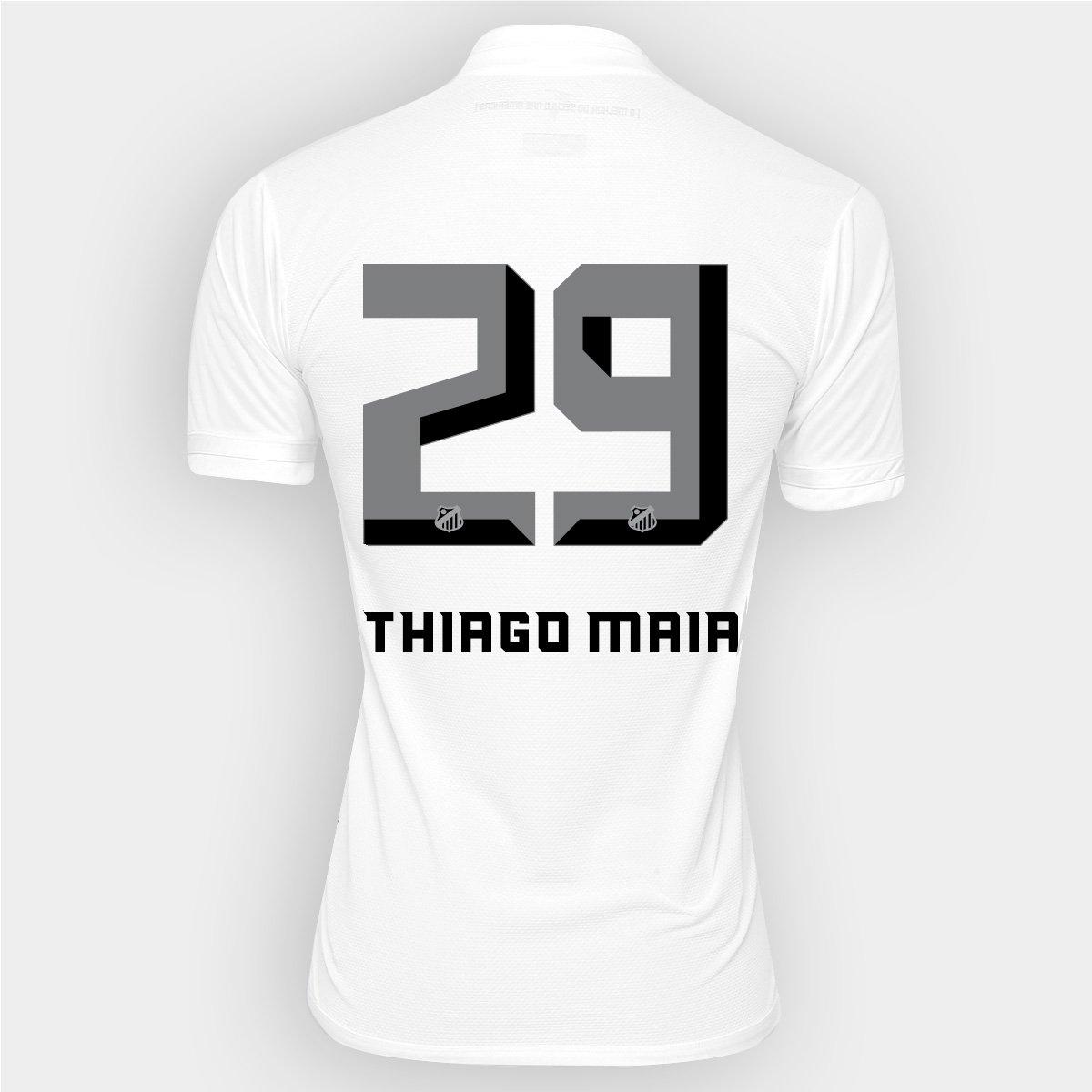 1eebf04436cfd Camisa Kappa Santos I 2016 nº 29 - Thiago Maia - Compre Agora