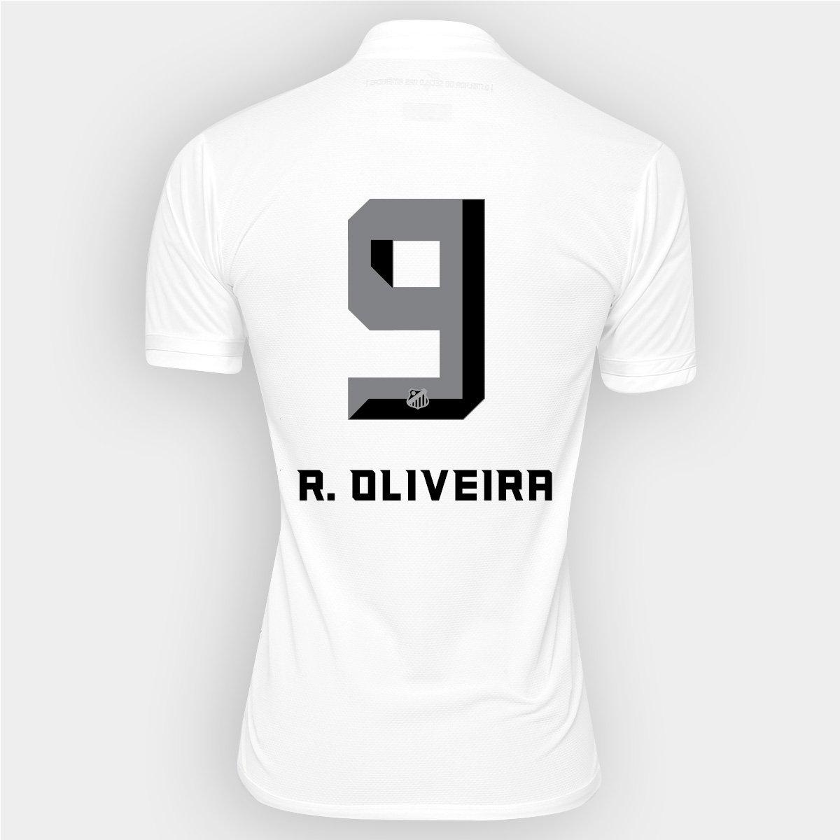 Camisa Kappa Santos I 2016 nº 9 - R. Oliveira - Compre Agora  2fe62caa9acb3