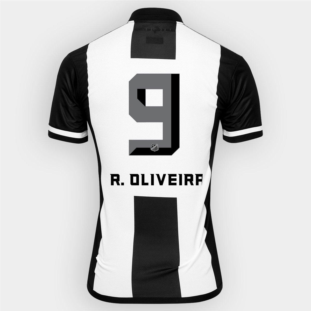 12bfc881ebf5e Camisa Kappa Santos II 2016 nº 9 - R. Oliveira - Compre Agora
