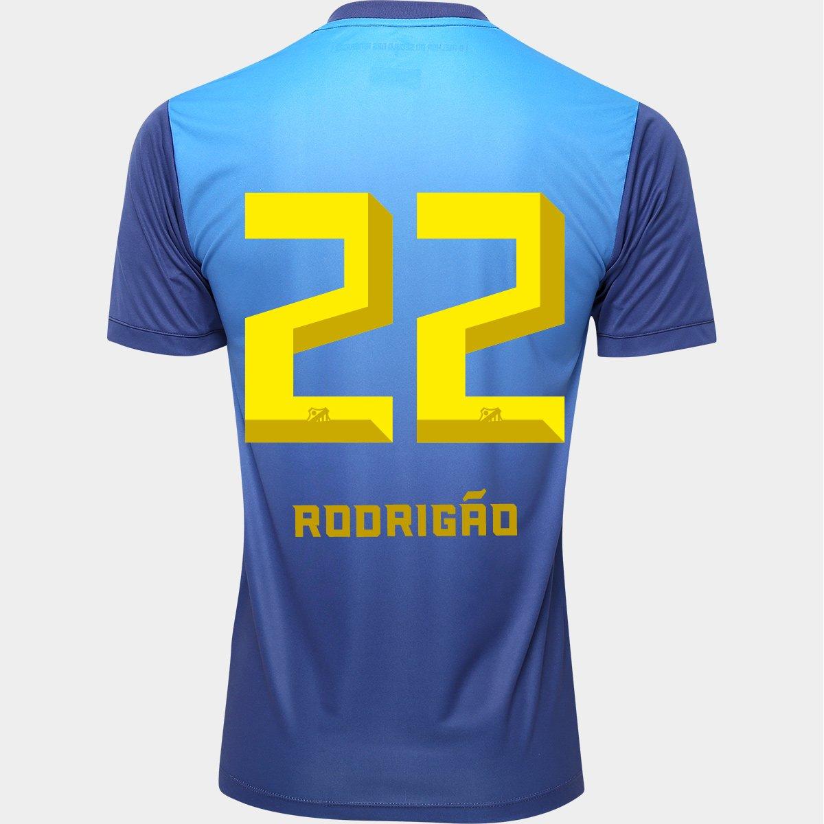 49ed3ac95b Camisa Kappa Santos III 2016 nº 22 - Rodrigão - Compre Agora