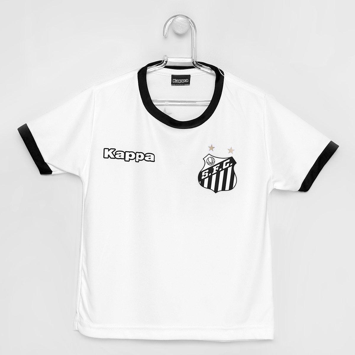 aa162c63bd Camisa Kappa Santos Shield 2016 - Infantil - Compre Agora