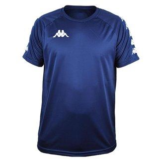 Camisa Kappa Sport Treino Futebol Azul