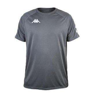 Camisa Kappa Sport Treino Futebol Cinza