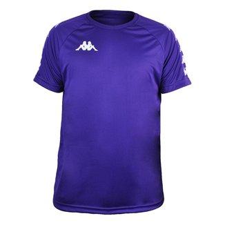 Camisa Kappa Sport Treino Futebol Roxa