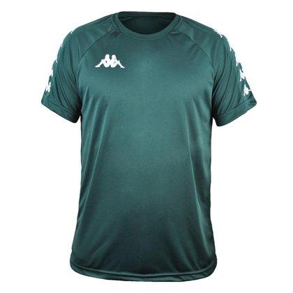 Camisa Kappa Sport Treino Futebol  Verde