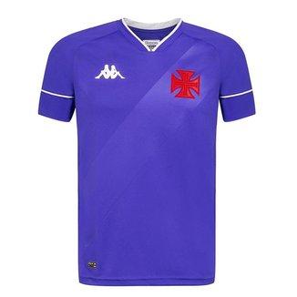 Camisa Kappa Vasco Goleiro II 2020 Masculina