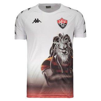 Camisa Kappa Vitória Aquecimento Jogador 2019