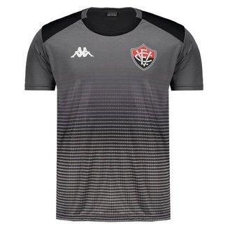 Camisa Kappa Vitória Concentração 2019 Comissão Técnica