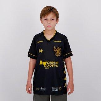Camisa Kappa Vitória III 2020 Infantil Masculina