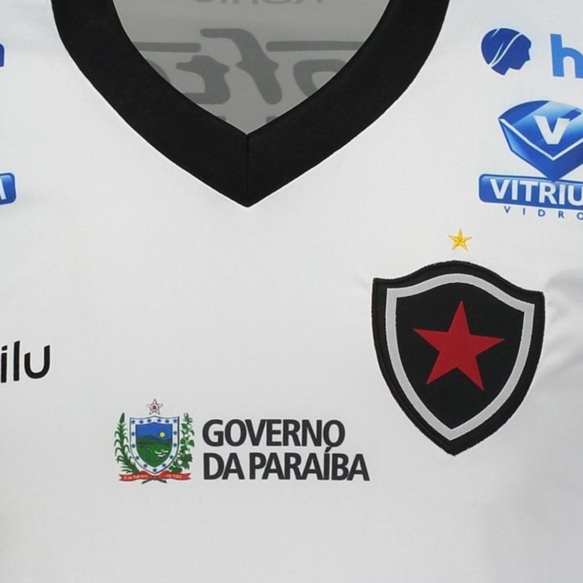 Camisa Karilu Botafogo PB II 2018 Masculina - Branco - Compre Agora ... 78a03b68988e1