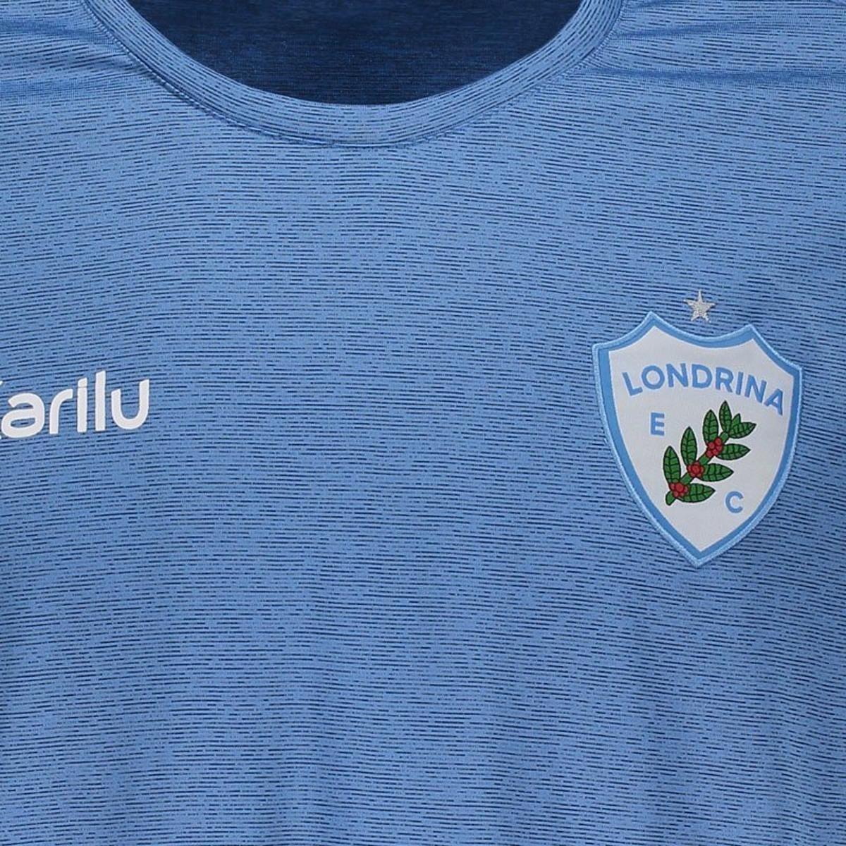 Camisa Karilu Londrina Viagem 2018 Masculina - Azul - Compre Agora ... 883ca9412c361