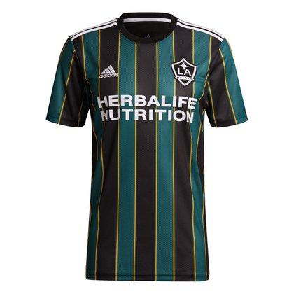 Camisa LA Galaxy Away 21/22 s/n° Torcedor Adidas Masculina