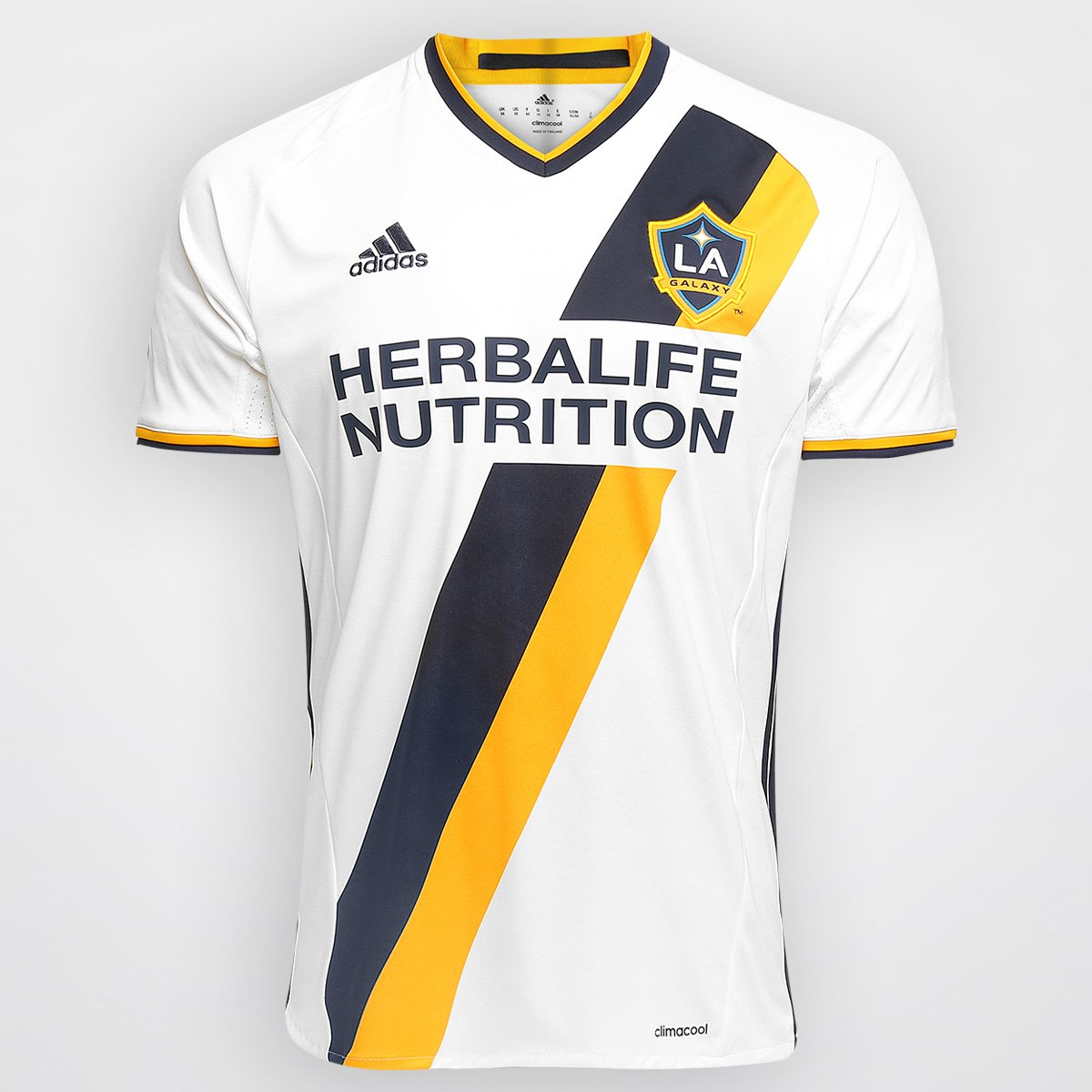 5deb0f0a74839 Camisa La Galaxy MLS Home 2016 s/nº Torcedor Adidas Masculina | Netshoes