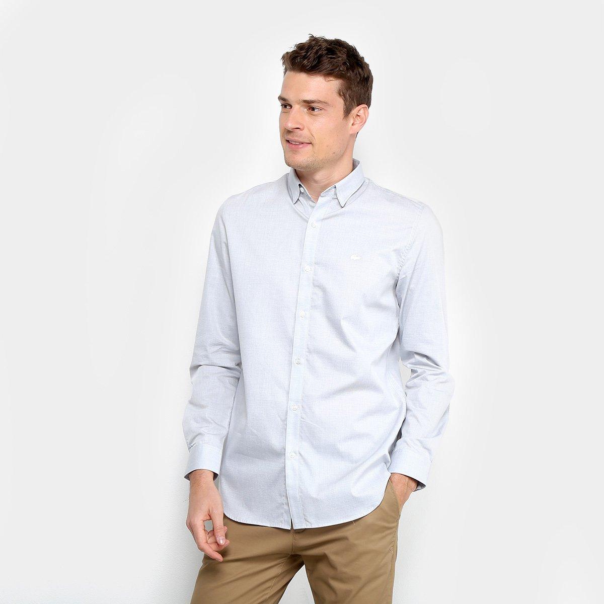 198a8cf30 Camisa Lacoste Manga Longa Masculina - Compre Agora