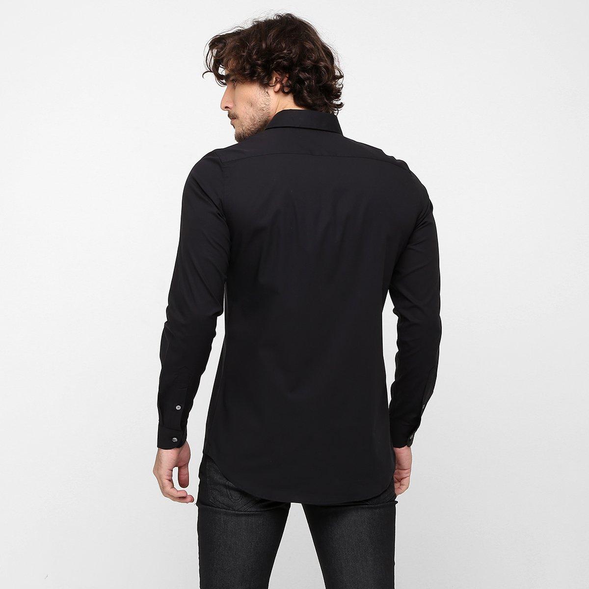 2660947667697 Camisa Lacoste Slim Fit Lisa - Compre Agora