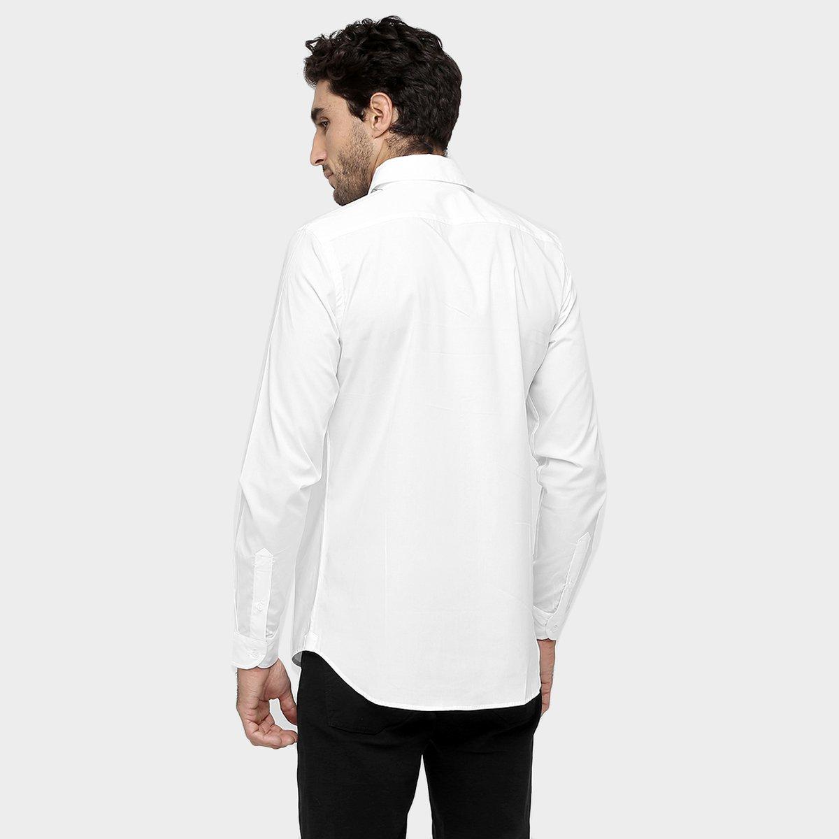 ac362c0f4b06e Camisa Lacoste Slim Fit Lisa - Compre Agora   Netshoes