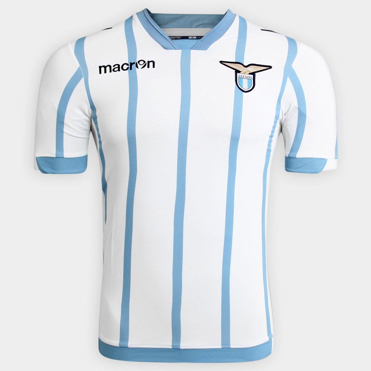 Camisa Lazio Third 14 15 s nº Torcedor Macron Masculina - Compre Agora  9968f5f11f1c1