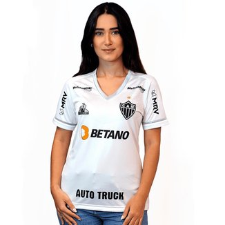 Camisa Le Coq Atlético Mineiro II 2021 s/n° Torcedor Feminina