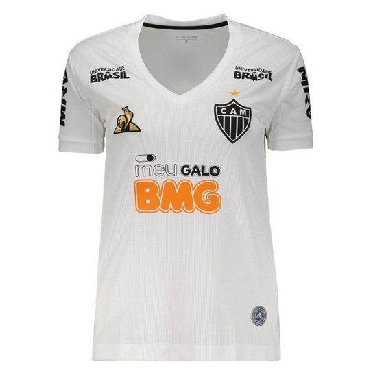 Camisa Le Coq Sportif Atlético Mineiro II 2019 Feminina - Branco