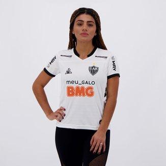 Camisa Le Coq Sportif Atlético Mineiro II 2020 Feminina com Patrocínio