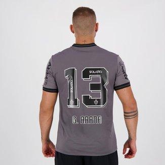 Camisa Le Coq Sportif Atlético Mineiro III 2020 N°13 G. Arana Masculina