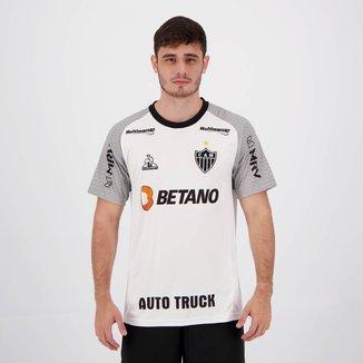 Camisa Le Coq Sportif Atlético Mineiro Treino Comissão 2021 Masculina