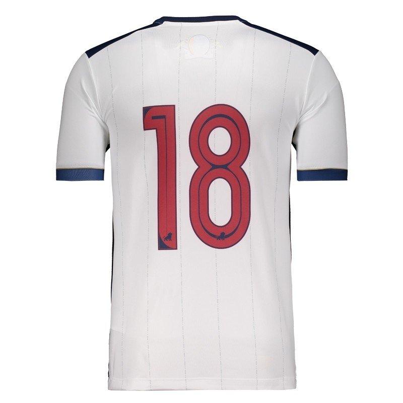 Camisa Leão 1918 Fortaleza II 2017 N° 18 Masculina - Compre Agora ... 84023dbcc8a88