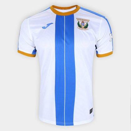 Camisa Leganés Home 20/21 s/n° Torcedor Joma Masculina