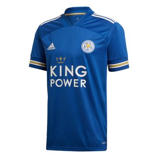 Camisa Leicester Home 20/21 s/n° Torcedor Adidas Masculina