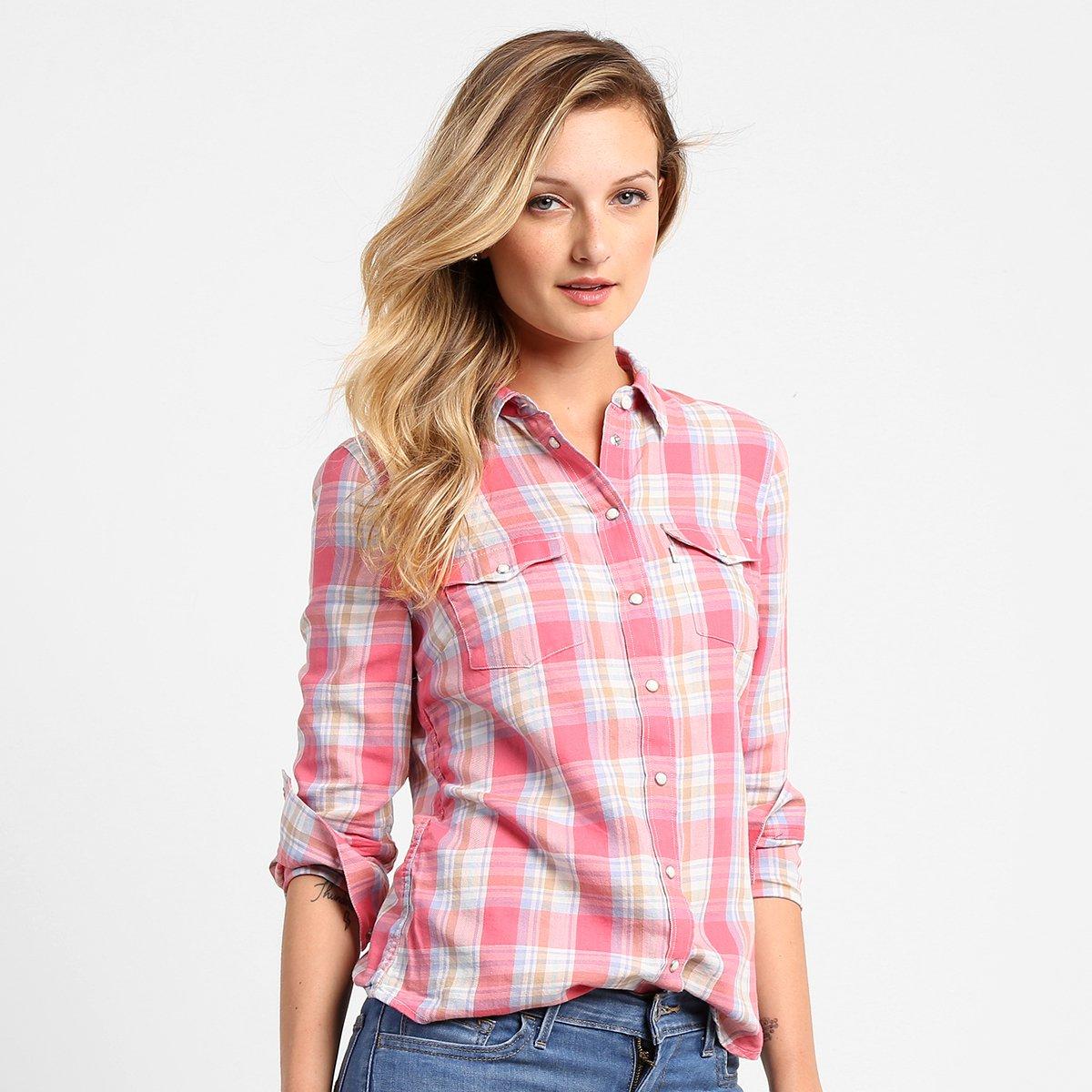Camisa Levi´s Xadrez | Netshoes