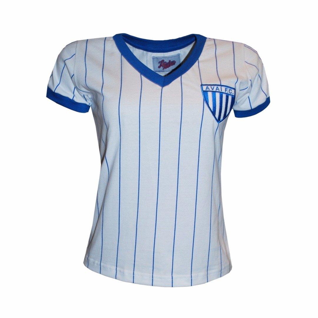 Azul 1983 Branco Camisa e Camisa Liga Retrô Avaí Liga w4qxXq8vY