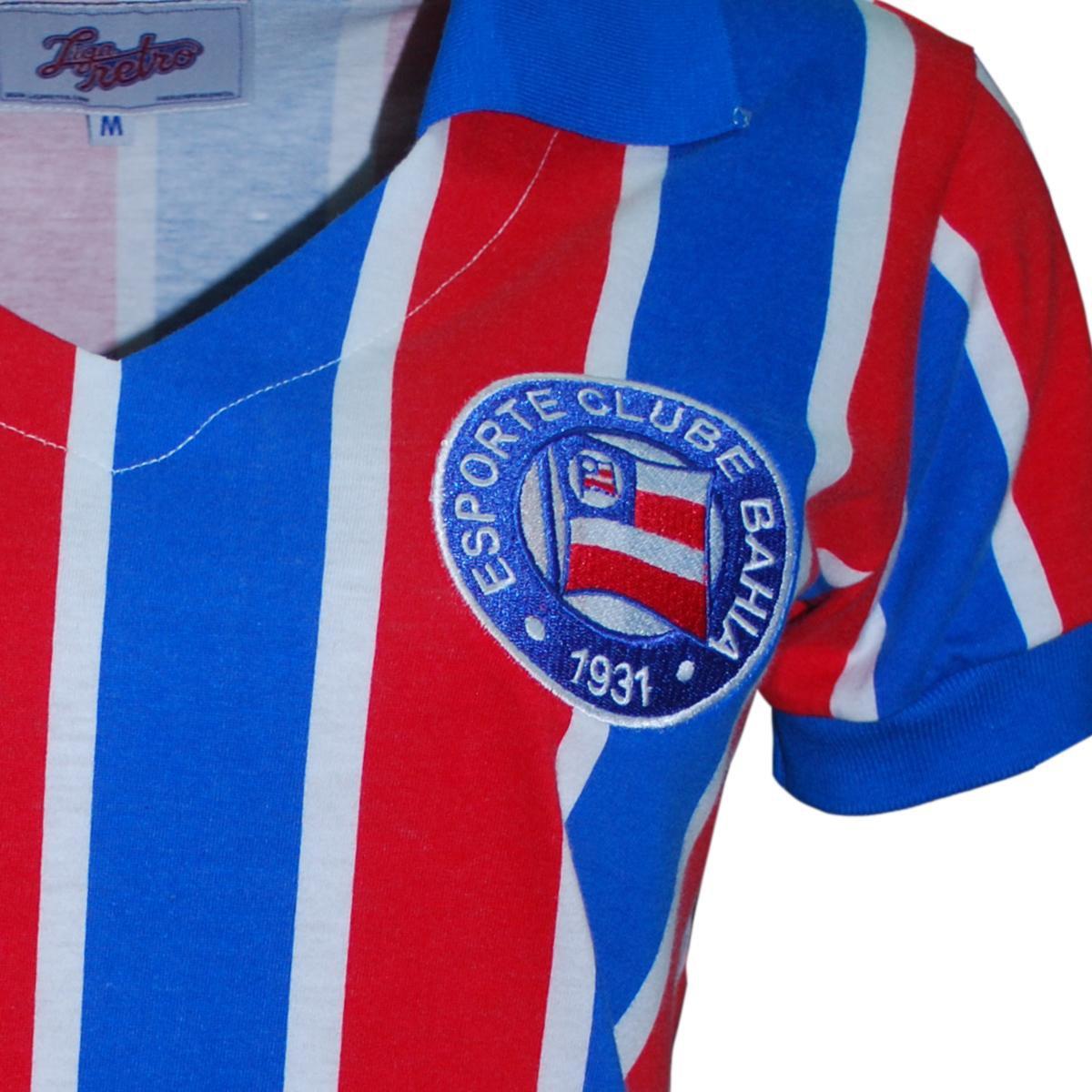 e Camisa Azul Liga Bahia Feminina Camisa Liga Retrô Vermelho rT7Oq0rwx