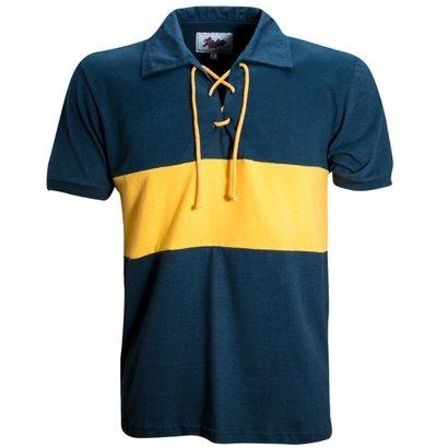 Camisa Liga Retrô Boca juniors 1935