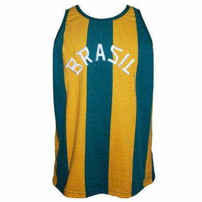 Camisa Liga Retrô Brasil Basquete 1963 - Masculino