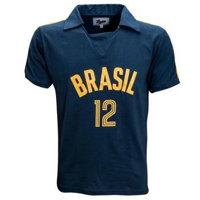 Camisa Liga Retrô Brasil Vôlei 1984 - Masculino