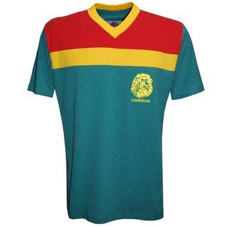 Camisa Liga Retrô Camarões 1989 Masculina